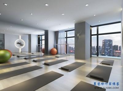 【工装】上海东盟商务大厦,瑜伽馆装修案例