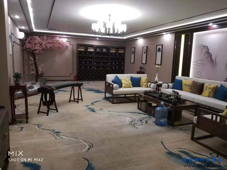 新中式美容会所,完工成品图