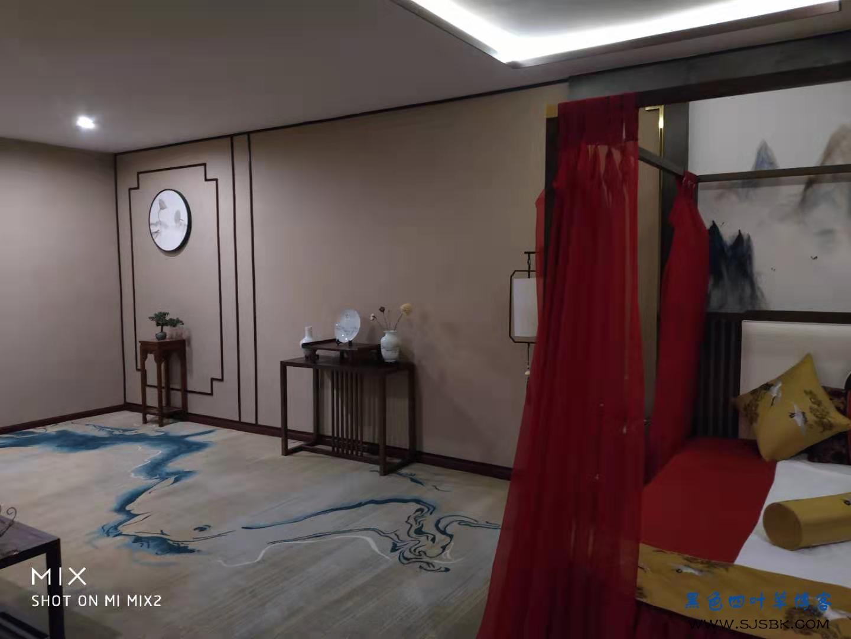 新中式美容会所,完工成品图-第32张图片-赵波设计师_云南昆明室内设计师_黑色四叶草博客