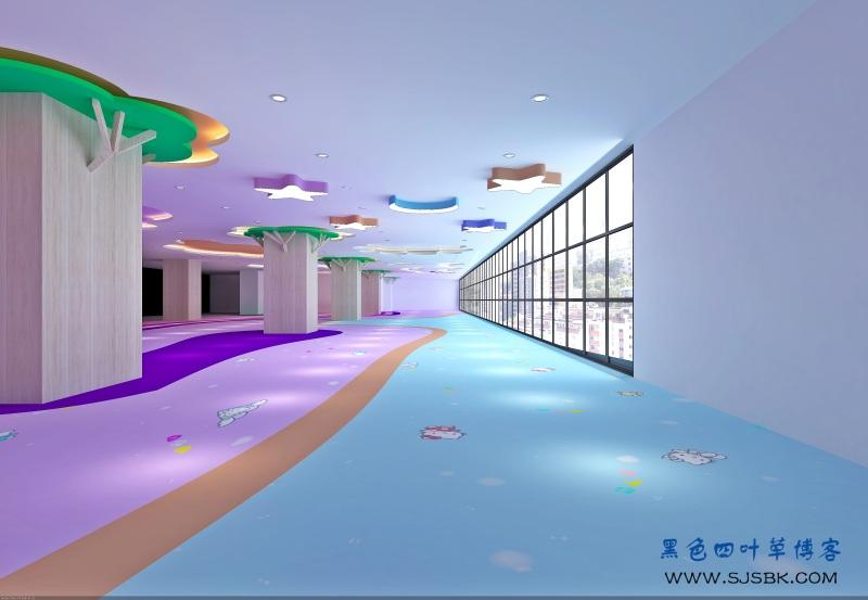昆明海丽滨雅度假酒店,内置游乐场装修,马卡龙色系