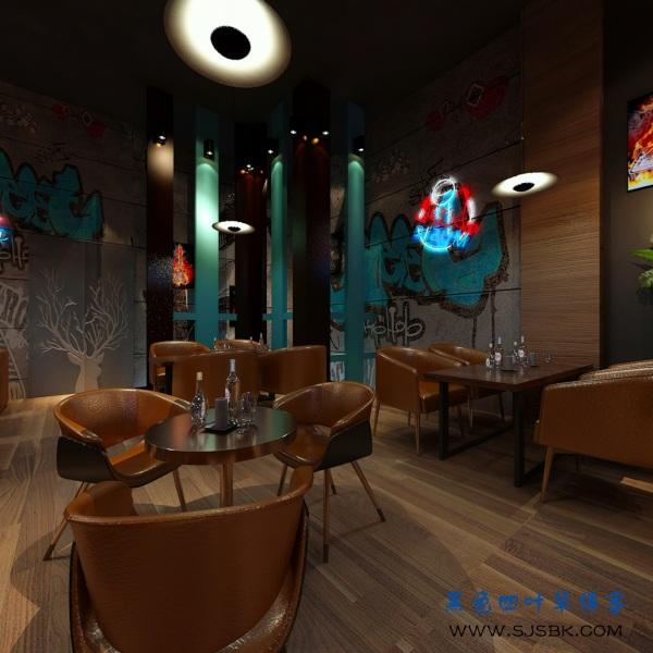 安宁太平酒吧装修案例分享