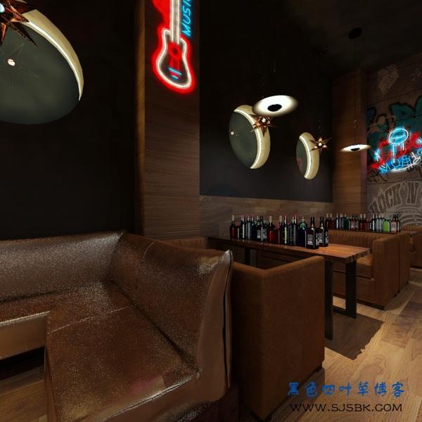 安宁太平酒吧装修案例分享-第8张图片-赵波设计师_云南昆明室内设计师_黑色四叶草博客