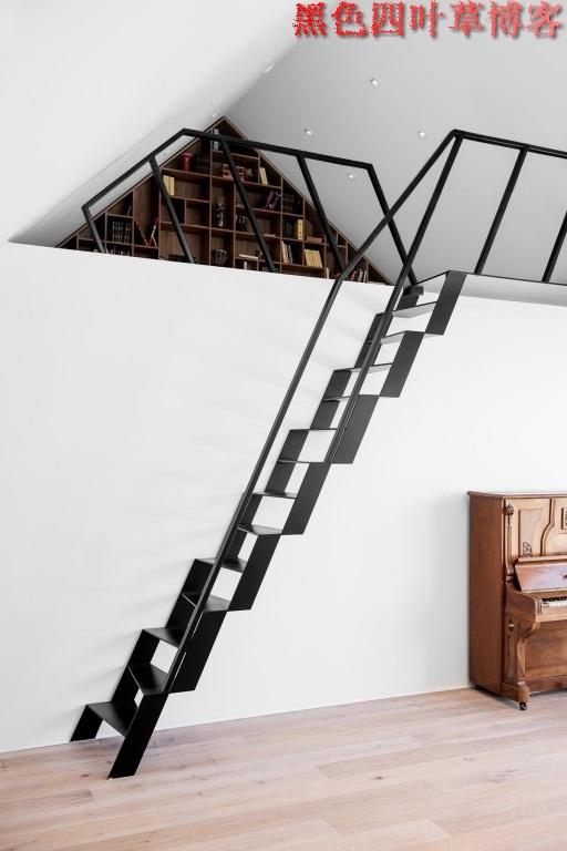提升设计灵感的楼梯设计,百分之九十你都没见过?-第1张图片-赵波设计师_云南昆明室内设计师_黑色四叶草博客
