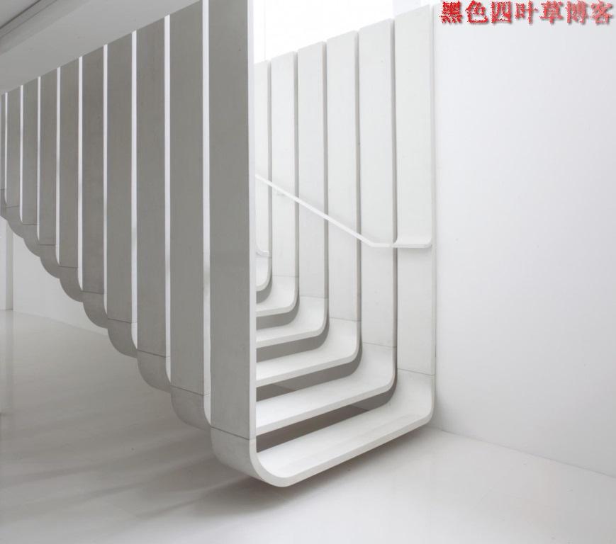 提升设计灵感的楼梯设计,百分之九十你都没见过?-第11张图片-赵波设计师_云南昆明室内设计师_黑色四叶草博客
