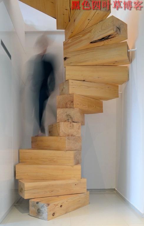 提升设计灵感的楼梯设计,百分之九十你都没见过?-第10张图片-赵波设计师_云南昆明室内设计师_黑色四叶草博客
