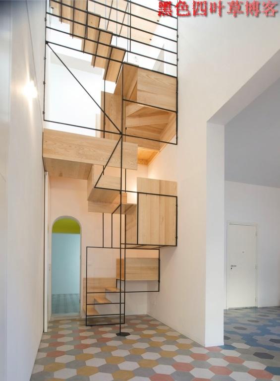 提升设计灵感的楼梯设计,百分之九十你都没见过?-第18张图片-赵波设计师_云南昆明室内设计师_黑色四叶草博客