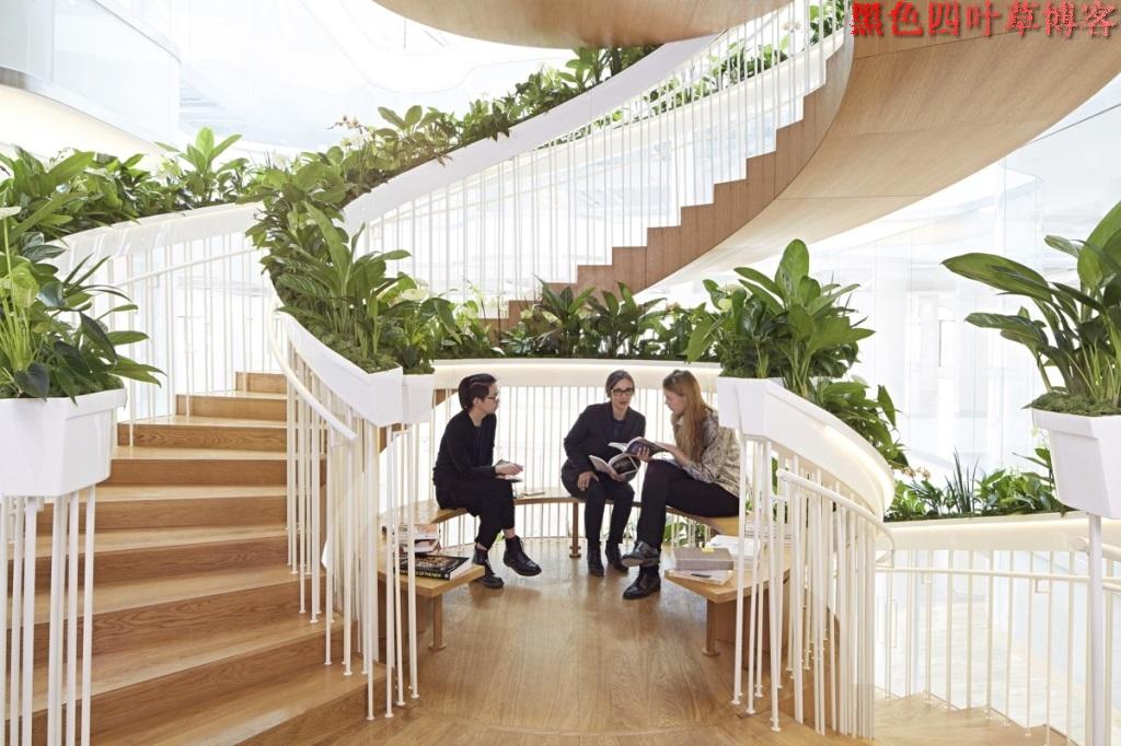提升设计灵感的楼梯设计,百分之九十你都没见过?-第15张图片-赵波设计师_云南昆明室内设计师_黑色四叶草博客