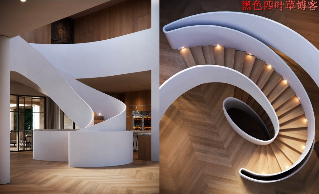 提升设计灵感的楼梯设计,百分之九十你都没见过?-第22张图片-赵波设计师_云南昆明室内设计师_黑色四叶草博客