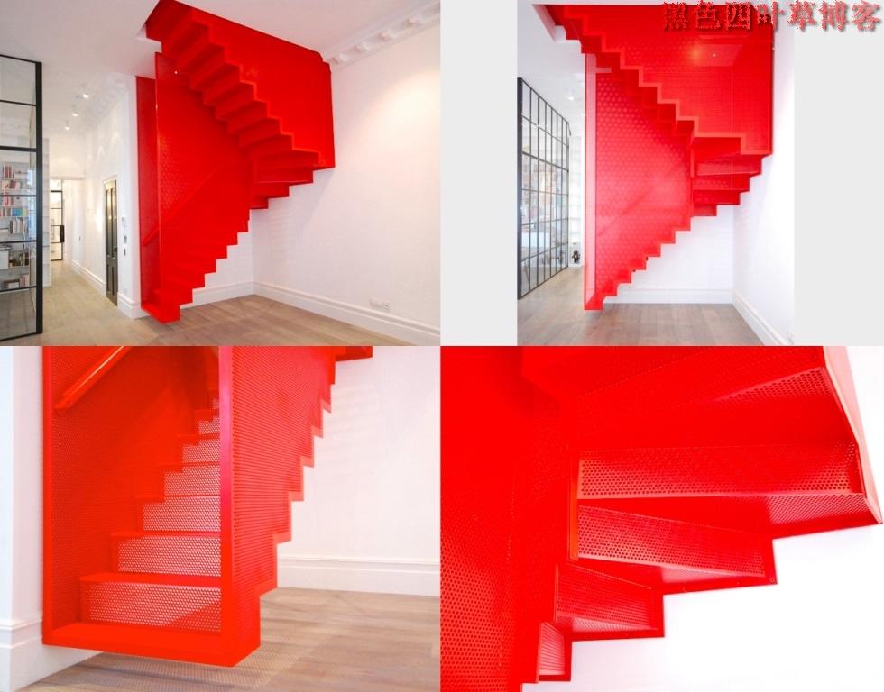 提升设计灵感的楼梯设计,百分之九十你都没见过?-第25张图片-赵波设计师_云南昆明室内设计师_黑色四叶草博客
