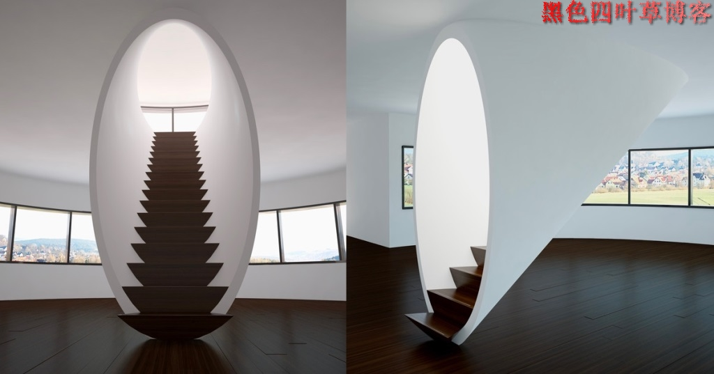 提升设计灵感的楼梯设计,百分之九十你都没见过?