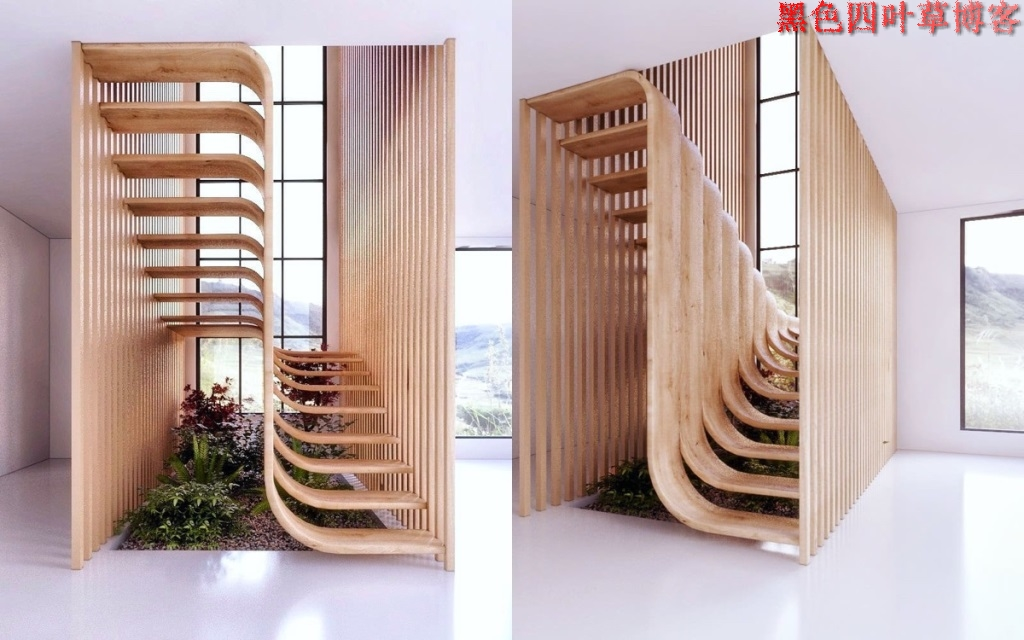 提升设计灵感的楼梯设计,百分之九十你都没见过?-第33张图片-赵波设计师_云南昆明室内设计师_黑色四叶草博客