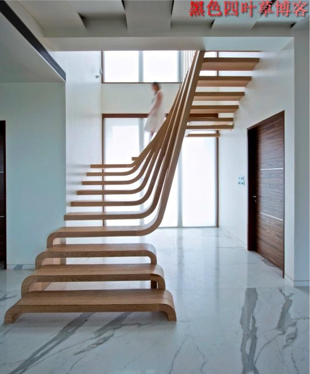 提升设计灵感的楼梯设计,百分之九十你都没见过?-第39张图片-赵波设计师_云南昆明室内设计师_黑色四叶草博客
