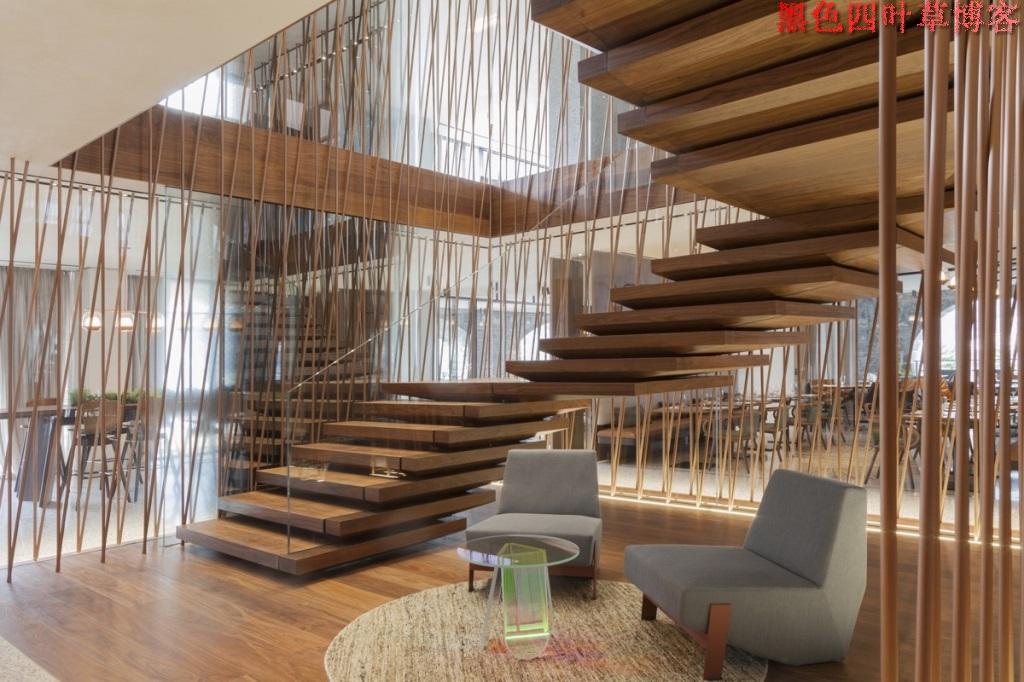 提升设计灵感的楼梯设计,百分之九十你都没见过?-第41张图片-赵波设计师_云南昆明室内设计师_黑色四叶草博客