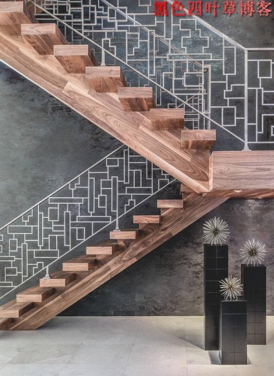 提升设计灵感的楼梯设计,百分之九十你都没见过?-第51张图片-赵波设计师_云南昆明室内设计师_黑色四叶草博客