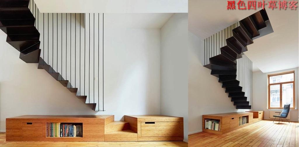 提升设计灵感的楼梯设计,百分之九十你都没见过?-第46张图片-赵波设计师_云南昆明室内设计师_黑色四叶草博客